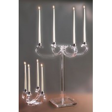 candelabri in plexiglass